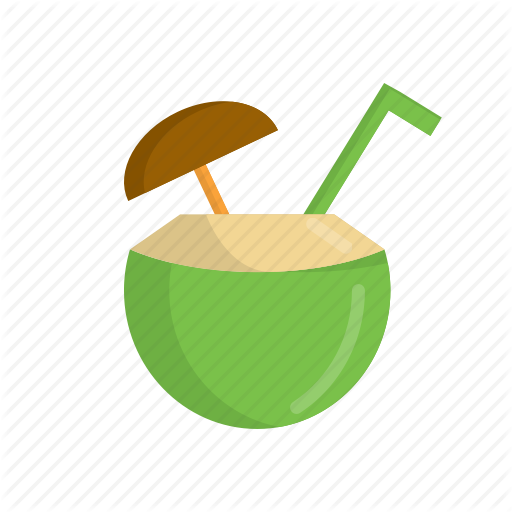 Beach, Cocktail, Coconut, Coconut Drink, Drink, Summer, Sweet Icon