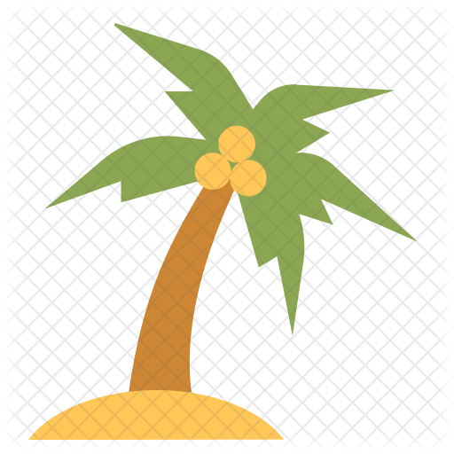 Coconut Tree Icon Png Png Image