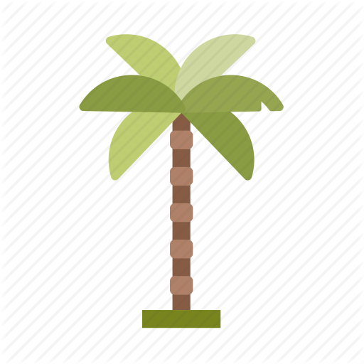 Coconut Tree, Forest, Jungle, Nature, Perennial, Tree Icon