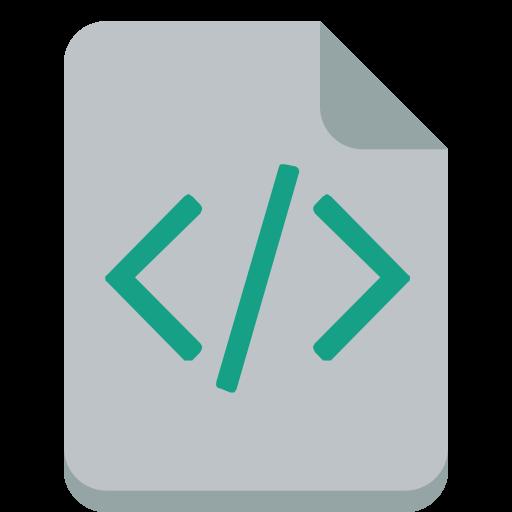 Code Icon Small Flat Iconset Paomedia