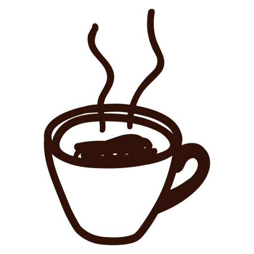 Hand Drawn Coffee Cup Icon