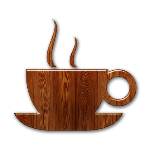 Coffee Shop Icon Blue Images