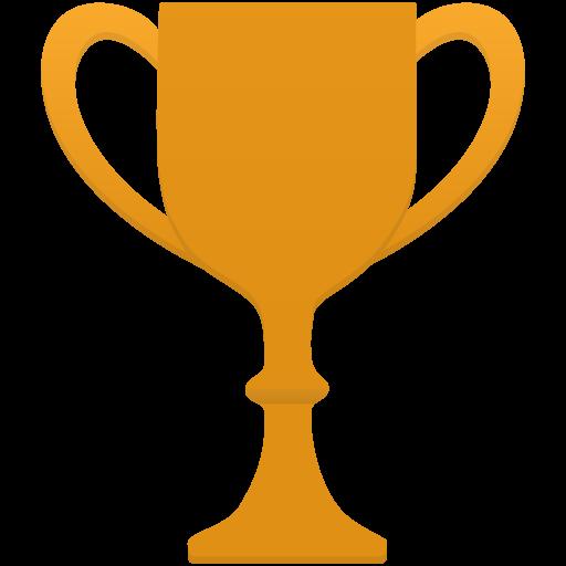 Cup Gold Icon Flatastic Iconset Custom Icon Design