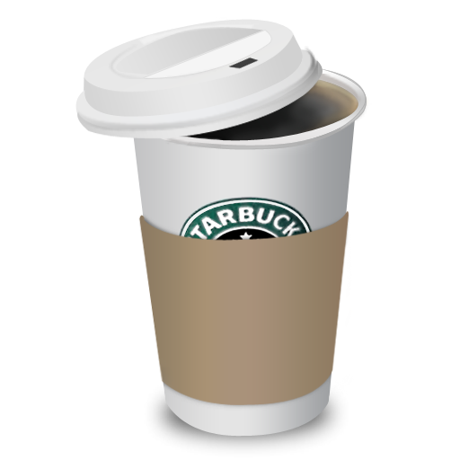 Starbucks, Coffee, Cup Icon