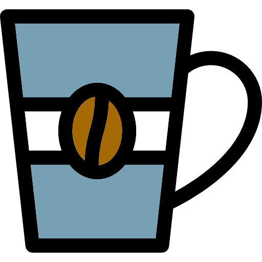Linear Cups Of Coffee Icon