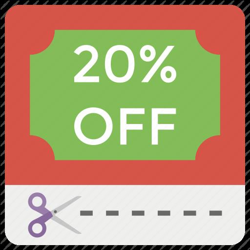 Discount Coupon, Rebate, Sale Coupon, Sale Discount, Sale Premium Icon