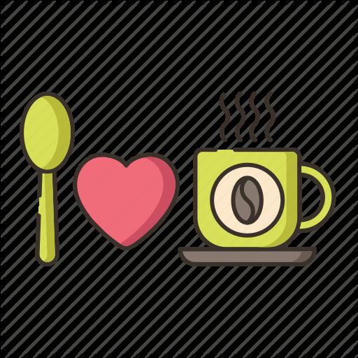Coffee Drinker, Coffee Lover, I Love Coffee Icon