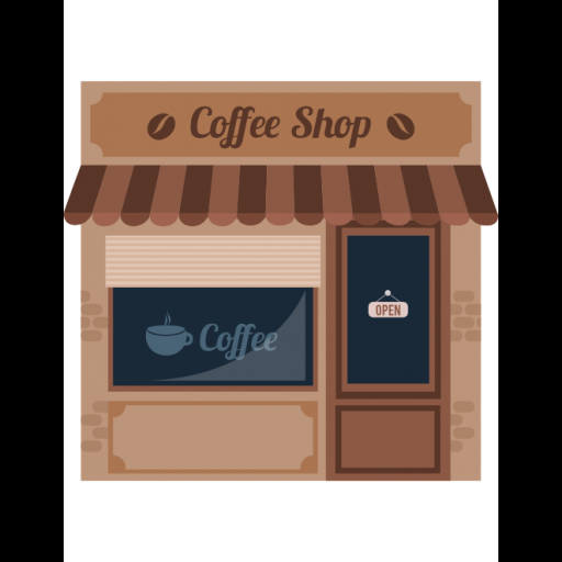 Coffee Shop Icon Building Collection Freepik