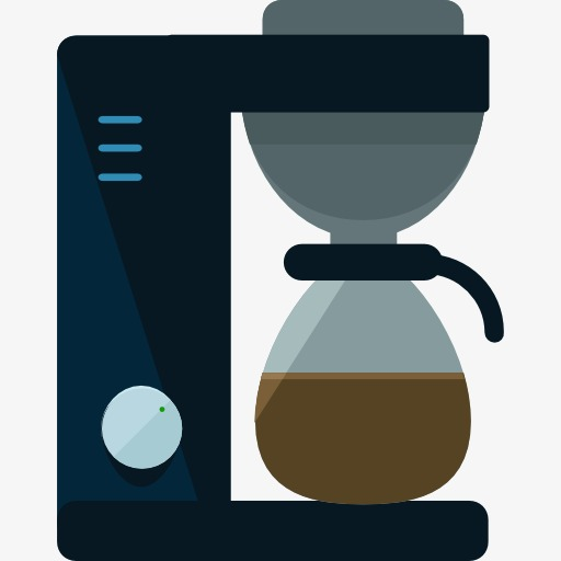 Gray Coffee Pot, Pot Clipart, Coffee Pot, Drink Png Image