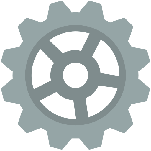 Cog Icon Small Flat Iconset Paomedia