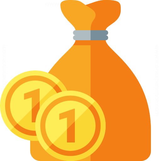 Iconexperience G Collection Moneybag Coins Icon