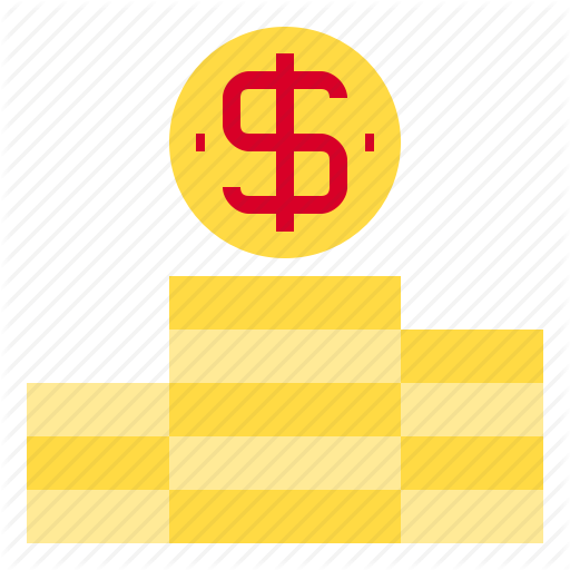 Coin, Stack Icon