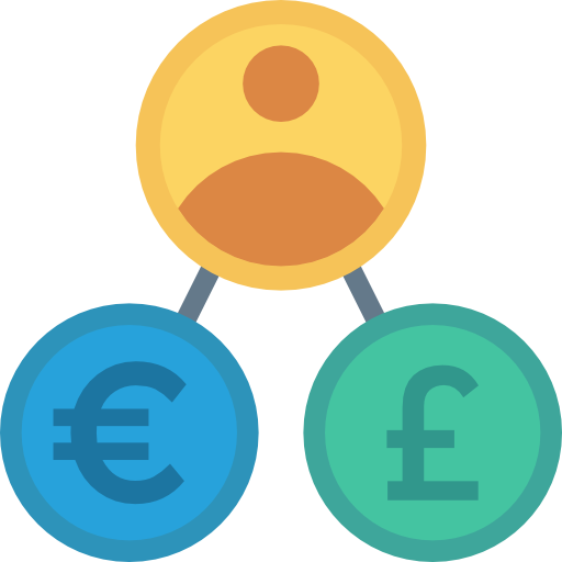 Coins Icon Banking And Finance Dinosoftlabs