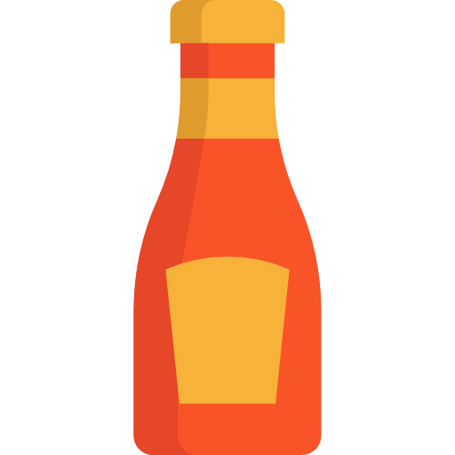 Ketchup, Food And Restaurant, Spicy, Food, Bottle Icon