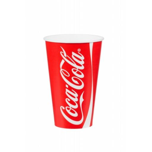 Coke Coca Cola Paper Cups For Fast Food Cold Soft