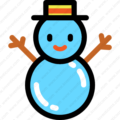 Download Snowman,christmas,snow,cold Icon Inventicons