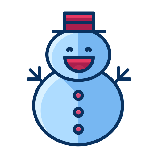 Snowman, Profile, Cold, Winter, Snow Man, Christmas, Snow Icon