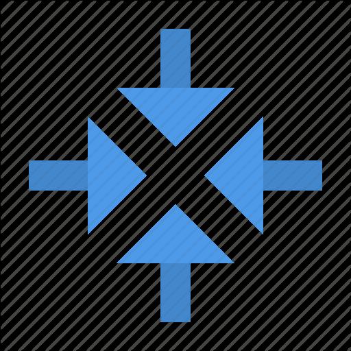 Arrow, Collapse Icon