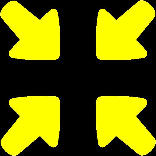 Yellow Collapse Icon