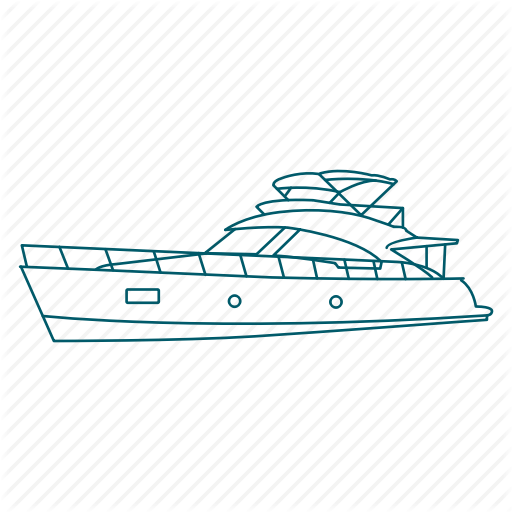 Boat, Cruise, Ship, Travel, Trip, Vacation Icon