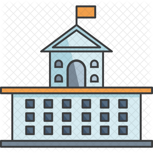 College Building Icon Png Png Image