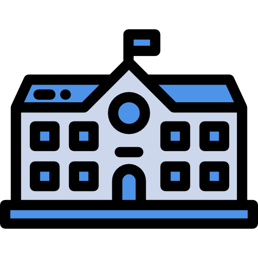 Education, College, Buildings Icon