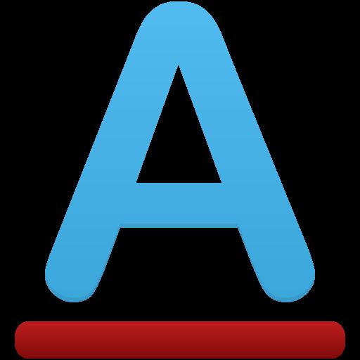 Font Color Icon Flatastic Iconset Custom Icon Design