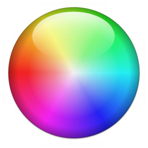 Iconexperience V Collection Color Wheel Icon