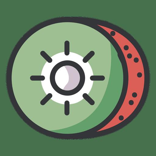 Kiwi Color Icon
