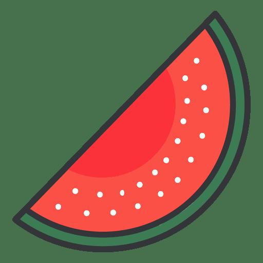 Watermelon Color Icon