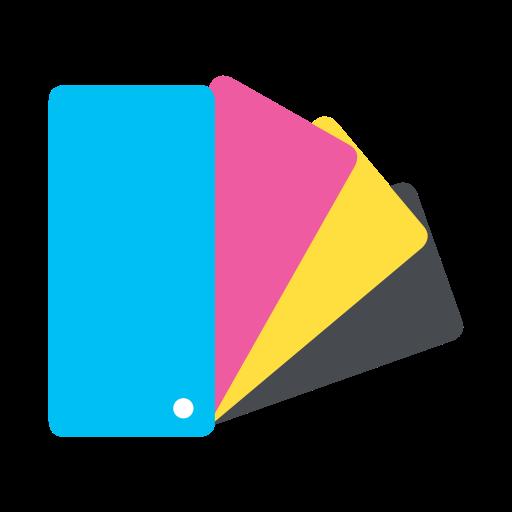 Cmyk, Color, Color Chart, Colour, Design, Palette, Printing Icon