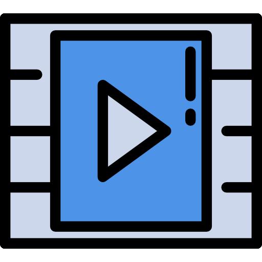 Media Mega Pack Color Icon