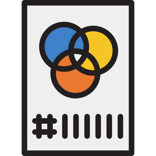 Color Filters, Tools And Utensils, Color, Art, Color Palette Icon