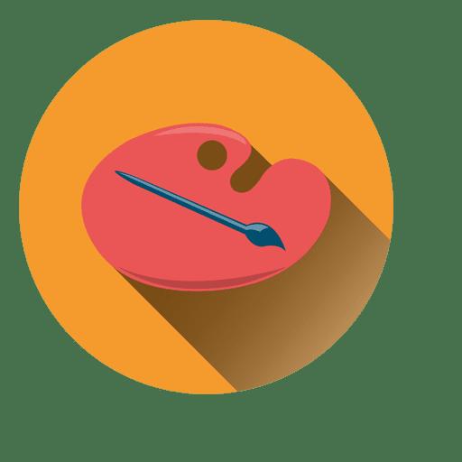 Color Palette Circle Icon