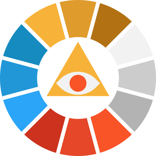 Pantone Color Palette Png Icon