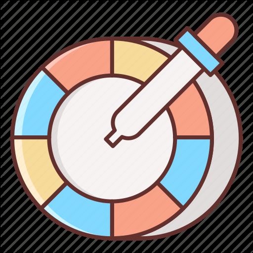 Color, Color Picker, Color Wheel, Wheel Icon
