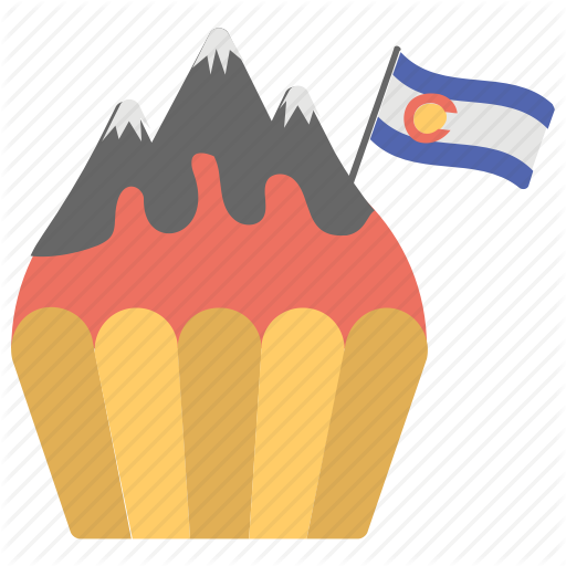 Colorado Day, Flag, Lava, Observed Locally, Us State Holiday Icon