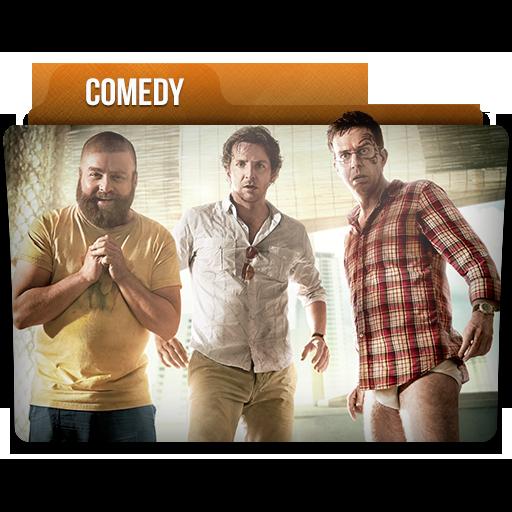 Comedy Folder Icon