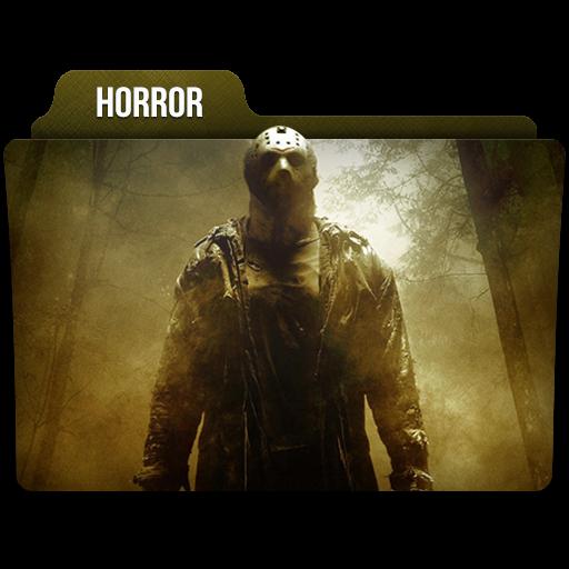 Horror Icon Movie Genres Folder Iconset Limav