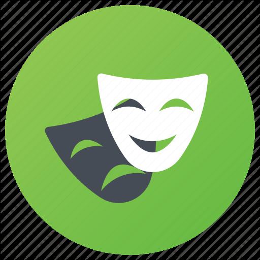 Anonymous Mask, Comedy Mask, Entertainment Art, Entertainment Mask