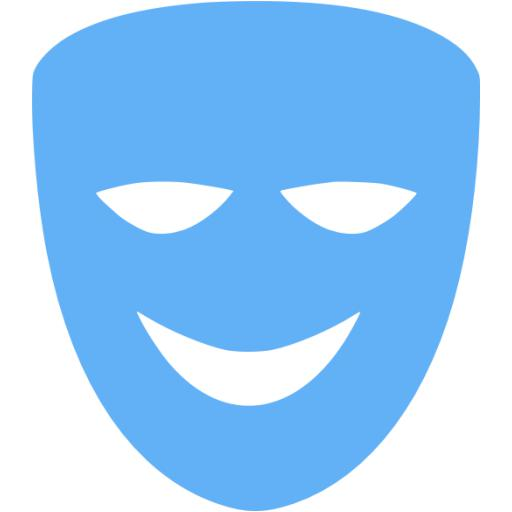 Tropical Blue Comedy Icon
