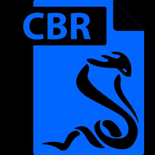 Cbr, Comic Book, File, Format, Sumatrapdf Icon
