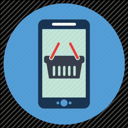App, Ecommerce, Mobile Icon