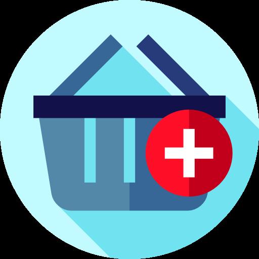 Supermarket, Shopping Basket, Commerce Icon