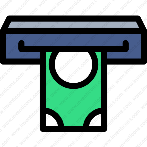 Download Commercial,financial,atms,cash,machine,notes Icon