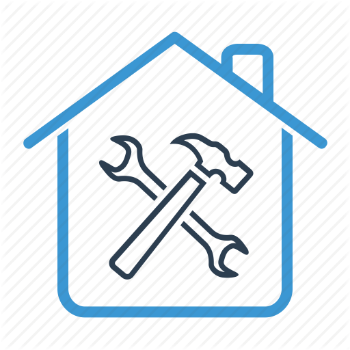 House, Home, Blue, Transparent Png Image Clipart Free Download