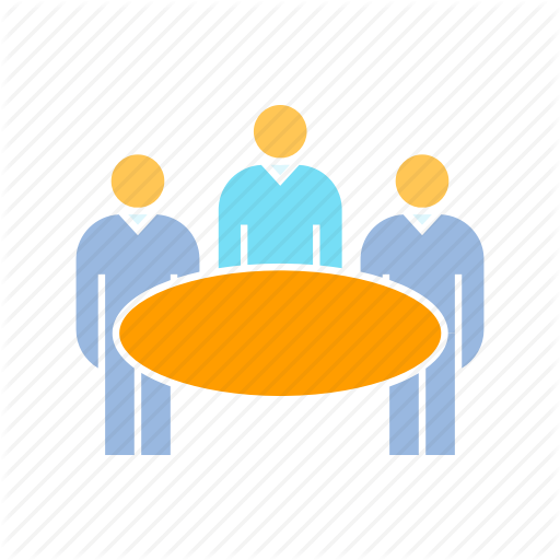 Board, Committee, Committee Member, Meeting, Party, Table Icon