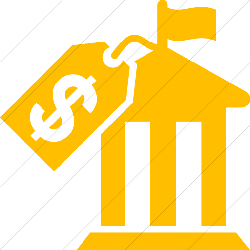 Simple Yellow Iconathon Political Action Committee Icon