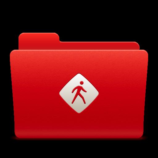 Folder Common Icon Soda Red Iconset Trysoda