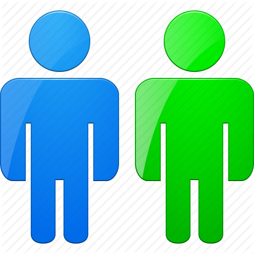 Community, Friends, Group, People Online, Staff, Team, Users Icon